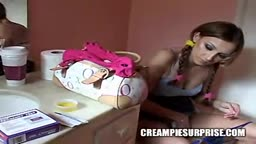 Creampie Surprise Tiffany Holiday